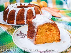 Кекс морковный