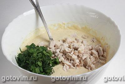 Маффины с курицей и сыром, Шаг 03