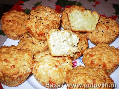 Фотография рецепта Кексы сырные