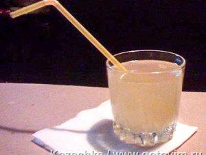 Кисель медовый с лимоном
