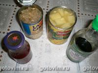 Курица с ананасом в кисло-сладком соусе, Шаг 01