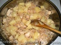Курица с ананасом в кисло-сладком соусе, Шаг 03