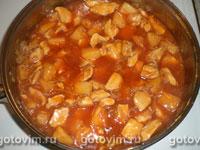 Курица с ананасом в кисло-сладком соусе, Шаг 04