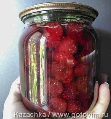 Клубничное варенье (с целыми ягодами). Фотография рецепта