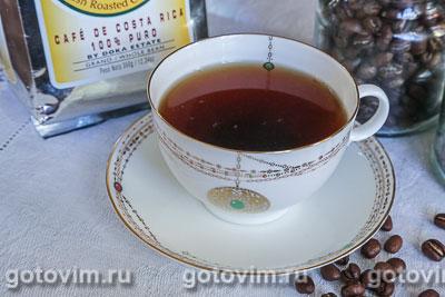 Кофе с кардамоном . Фотография рецепта