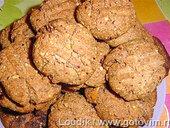 Кокис былль каукау (печенье с кусочками шоколада)