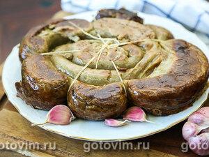 Домашняя печеночная колбаса