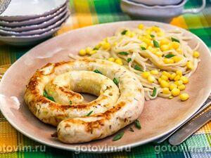 Колбаски из индейки с сыром
