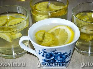 Летний компот из молодых кабачков с лимоном
