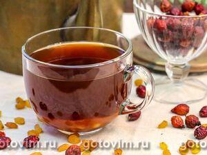 Овсяная каша с изюмом и персиками, пошаговый рецепт с фото