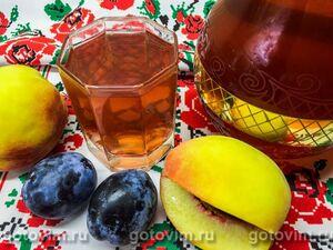 Компот из черемухи (с ароматом черешни), пошаговый рецепт с фото