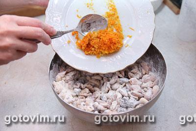 Шоколадно-ореховые конфеты с сухофруктами, Шаг 03