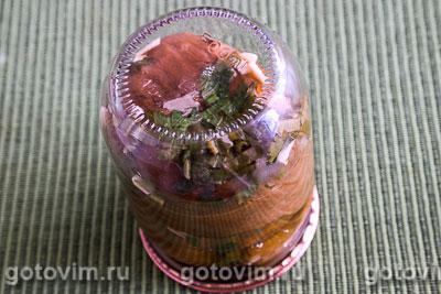 Консервированные печеные баклажаны с сельдереем, Шаг 06