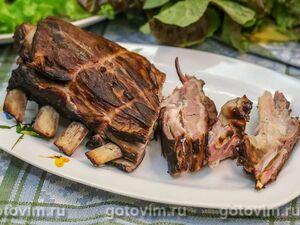 Копченые бараньи ребрышки (шприцевание мяса для копчения)