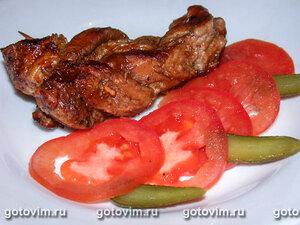 Косички из свиной вырезки