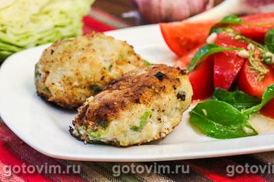 Фотография рецепта Капустно-рыбные котлеты