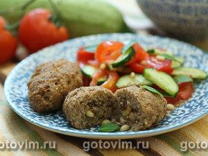 Мясные котлеты с булгуром по-ливански (Киббех)