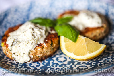 Котлеты из мяса камчатского краба. Фотография рецепта