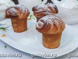 Краффины (булочки из ложного слоеного теста)