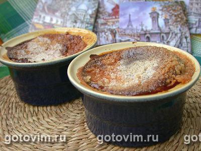 Крем-брюле. Фотография рецепта