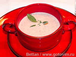 Суп-пюре из маслин и оливок
