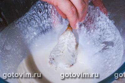 Креветки в хрустящей панировке, Шаг 03