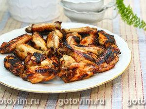 Куриные крылышки в цитрусовом маринаде