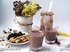 Курд из черной смородины и шоколада