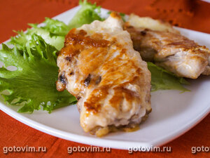 Куриные грудки с сыром бри