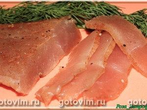 Сыровяленые куриные грудки