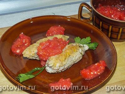 Фотография рецепта Куриный люля-кебаб в духовке