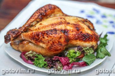 Курица с хрустящей корочкой с медом и горчицей