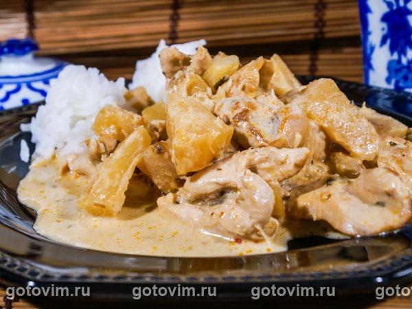 Курица с кокосовым молоком рецепт