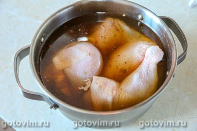 Курица в двойном маринаде, запеченная в духовке, Шаг 05