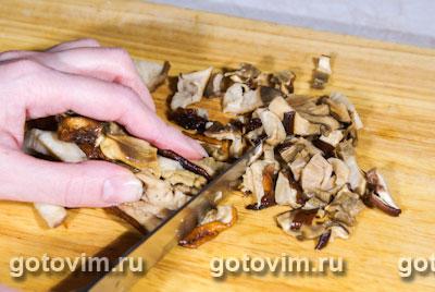 Грибы с картофелем под сметаной – кулинарный рецепт