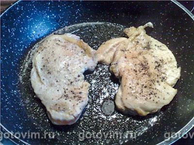 Куриное филе в соусе «Метакса», Шаг 02