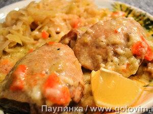 Курица по-чешски с капустой по-моравски (Курица на смЕтане)