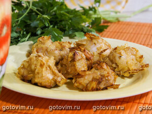 Кукурузный хлебчик с легкой перчинкой – кулинарный рецепт