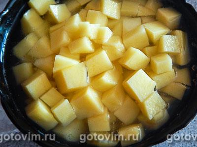Куриный суп с брокколи и цветной капустой, Шаг 01