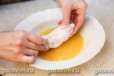 Куриный рулет с сыром дор блю, Шаг 05