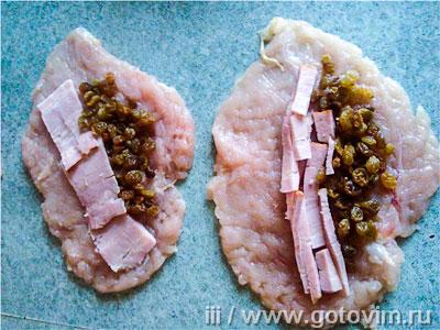 рецепты рулетов з куриной грудки