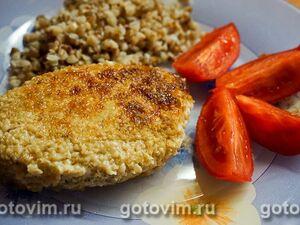 Зразы из куриного мяса с сыром и зеленью