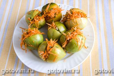 Квашенные зеленые помидоры, Шаг 04
