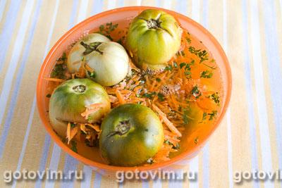 Квашенные зеленые помидоры, Шаг 05