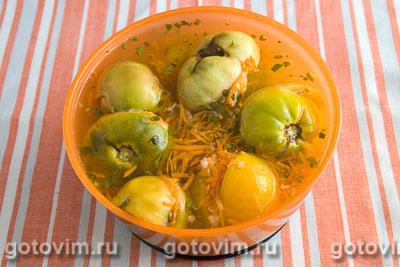 Квашенные зеленые помидоры, Шаг 06