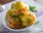Квашенные зеленые помидоры