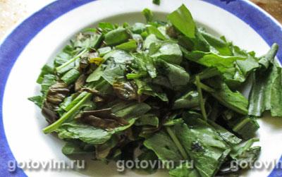 Легкий суп с щавелем и шпинатом, Шаг 02
