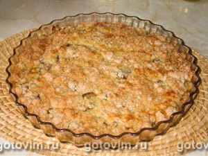Ленивый пирог со всевозможными ягодами или фруктами