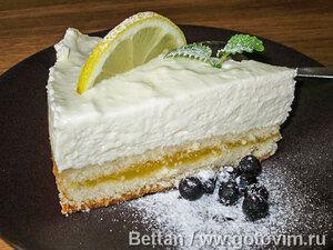 Творожный торт «Лимонное настроение»