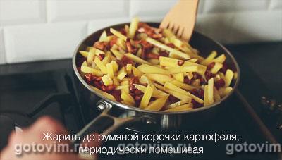 Жареные лисички с картошкой, Шаг 05